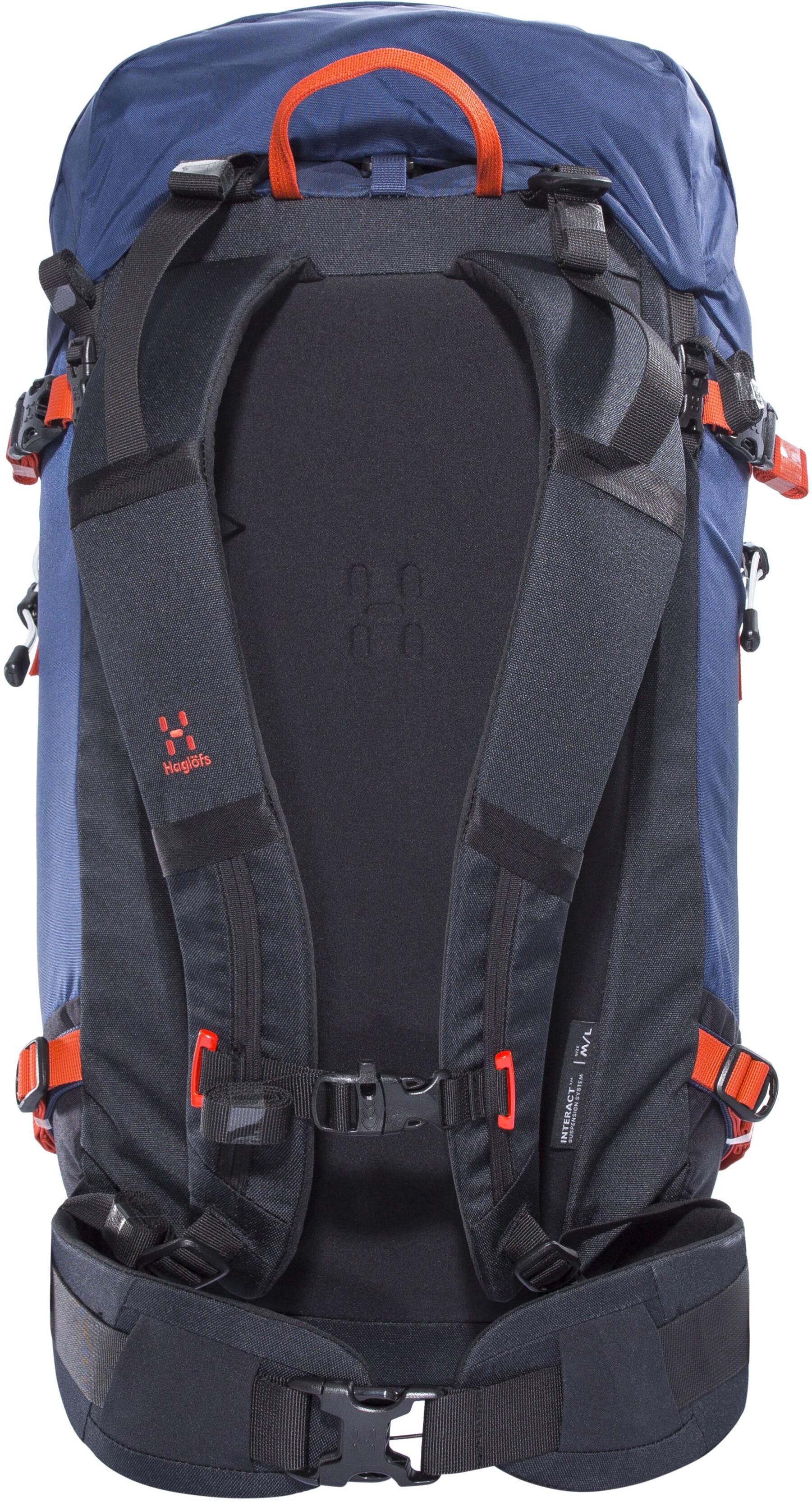 9391707348a Haglöfs Roc Summit 45 Backpack tarn blue - addnature.com